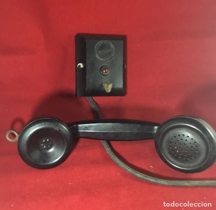 Teléfonos: Antiguo teléfono LM Ericsson, de los denominados de portería o Parlifono - Foto 2 - 149371106