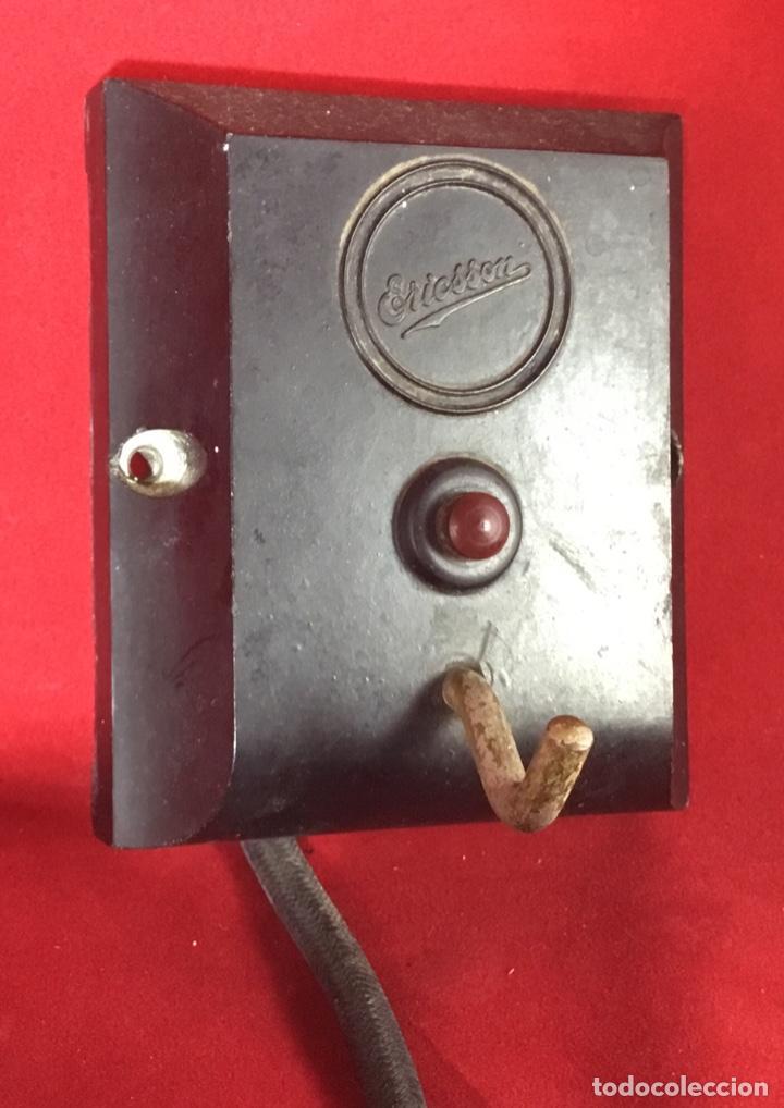 Teléfonos: Antiguo teléfono LM Ericsson, de los denominados de portería o Parlifono - Foto 3 - 149371106