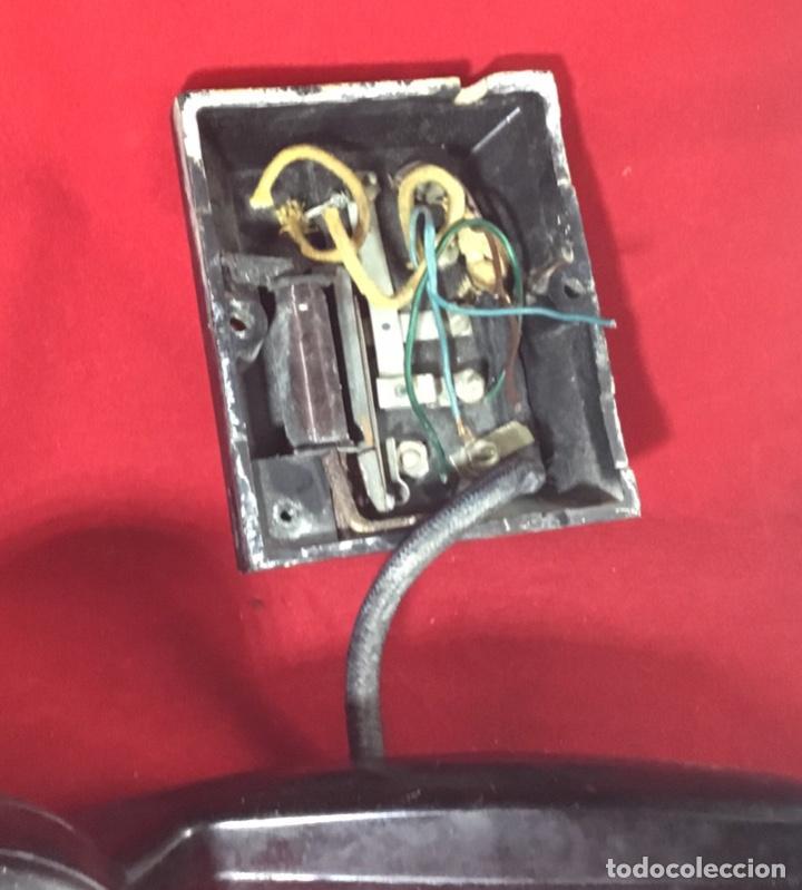 Teléfonos: Antiguo teléfono LM Ericsson, de los denominados de portería o Parlifono - Foto 4 - 149371106