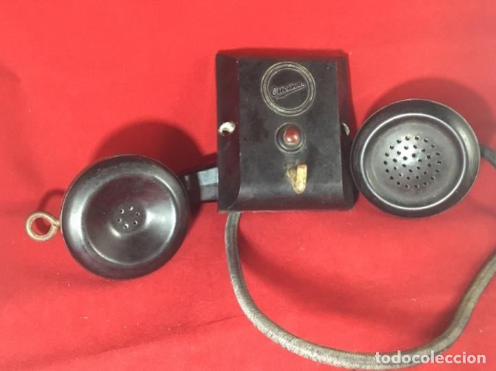 Teléfonos: Antiguo teléfono LM Ericsson, de los denominados de portería o Parlifono - Foto 6 - 149371106