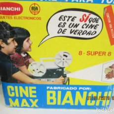 Antigüedades: CINE MAX BIANCHI - SUPER 8 OCHO - SIN PELÍCULA. . Lote 149611733