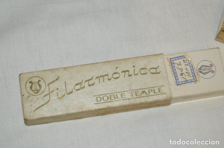 Antigüedades: VINTAGE - ANTIGUA NAVAJA FILARMONICA DOBLE TEMPLE - JOSÉ MONTSERRAT - Nº 14 - NOVODUR - ENVÍO 24H - Foto 11 - 149389294