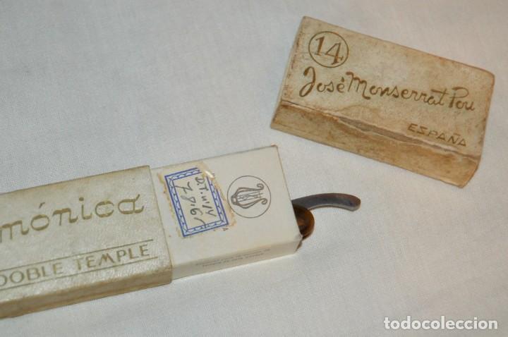 Antigüedades: VINTAGE - ANTIGUA NAVAJA FILARMONICA DOBLE TEMPLE - JOSÉ MONTSERRAT - Nº 14 - NOVODUR - ENVÍO 24H - Foto 12 - 149389294