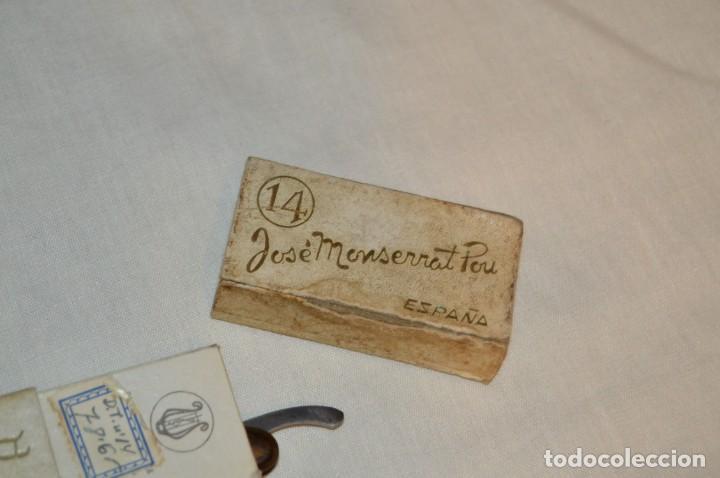 Antigüedades: VINTAGE - ANTIGUA NAVAJA FILARMONICA DOBLE TEMPLE - JOSÉ MONTSERRAT - Nº 14 - NOVODUR - ENVÍO 24H - Foto 13 - 149389294