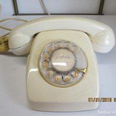 Teléfonos: TELÉFONO CON RUEDA NTE ECUALIZADO CON CABLE Y CONEXIÓN - AÑOS 70. . Lote 149390614