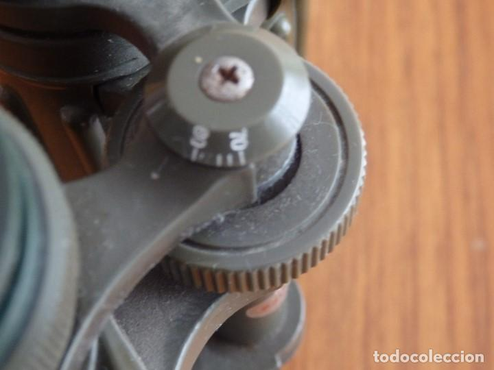 Antigüedades: larga vista binoculares prismaticos - Foto 3 - 149452594