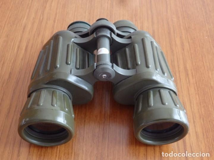 LARGA VISTA BINOCULARES PRISMATICOS (Antigüedades - Técnicas - Instrumentos Ópticos - Binoculares Antiguos)