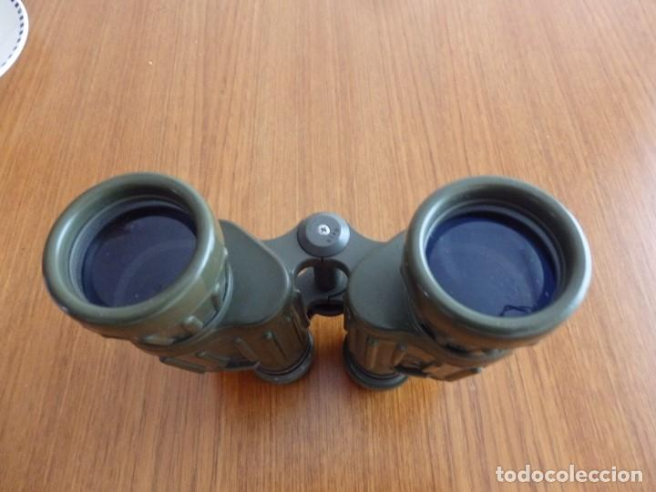 Antigüedades: larga vista binoculares prismaticos - Foto 6 - 149452594