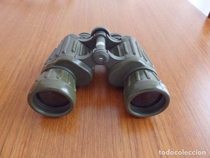 Antigüedades: larga vista binoculares prismaticos - Foto 7 - 149452594