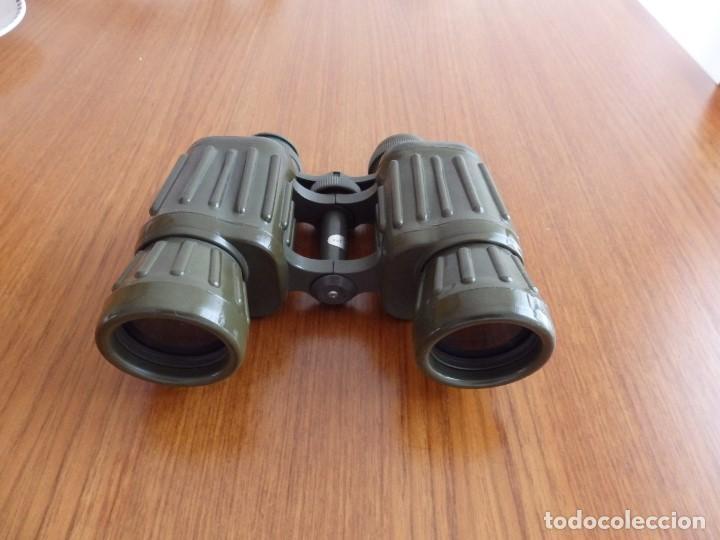 Antigüedades: larga vista binoculares prismaticos - Foto 8 - 149452594