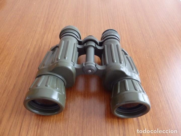 Antigüedades: larga vista binoculares prismaticos - Foto 9 - 149452594