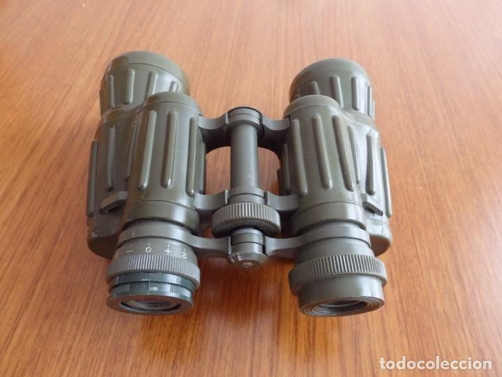 Antigüedades: larga vista binoculares prismaticos - Foto 10 - 149452594
