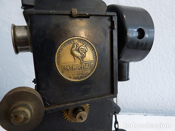Antigüedades: Proyector Pathé Baby 1 - Foto 9 - 149455638
