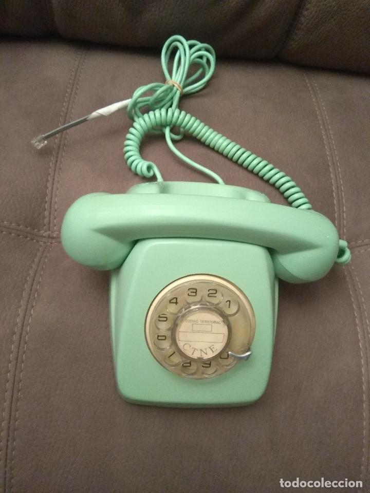 Phones: TELÉFONO HERALDO VERDE, ORIGINAL CITESA, Envío gratis, ADAPTADO Y FUNCIONANDO - Foto 5 - 149335314