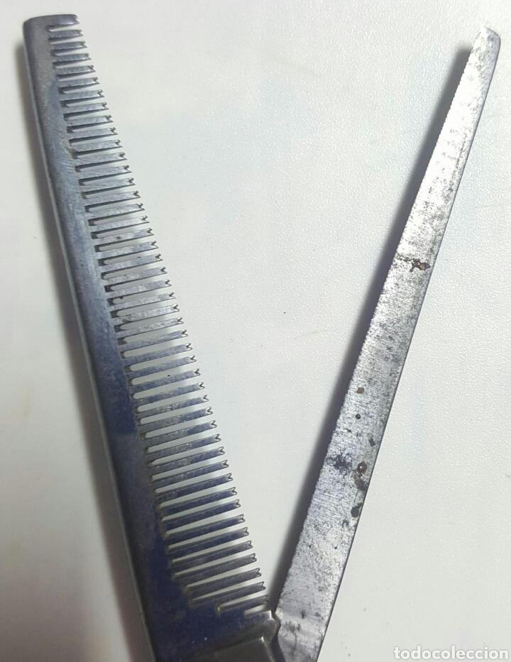 Antigüedades: Tijeras peluquero. - Foto 3 - 149513609