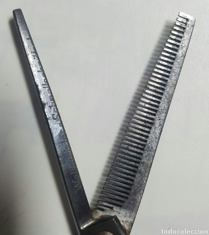 Antigüedades: Tijeras peluquero. - Foto 5 - 149513609