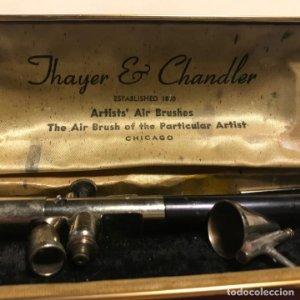 Aerógrafo vintage marca Thayer & Chandle