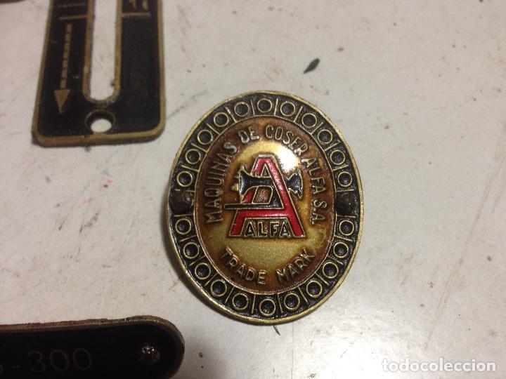 Antigüedades: Alfa anagramas maquinas coser - Foto 2 - 149530682