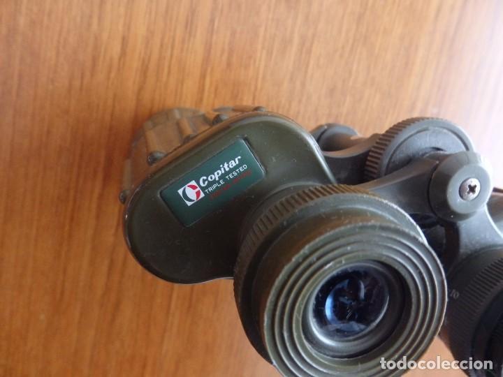 Antigüedades: larga vista binoculares prismaticos - Foto 2 - 149452594