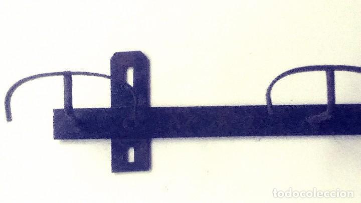 Antigüedades: perchero de hierro forjado - Foto 9 - 149542198
