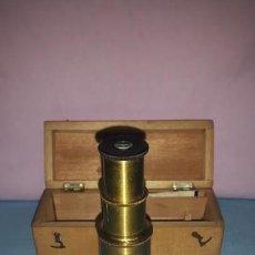 Antigüedades - MICROSCOPIO TAMBOR CAJA ORIGINAL - 149584278