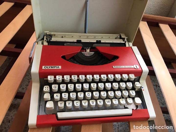 Antigüedades: Máquina escribir Olympia Traveller de luxe - Foto 2 - 149664689