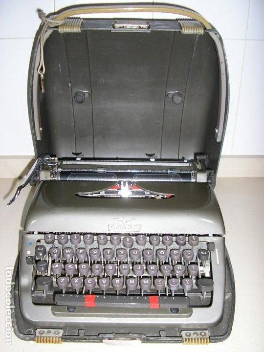 MAQUINA DE ESCRIBIR ADLER ,ANTIGUA (Antigüedades - Técnicas - Máquinas de Escribir Antiguas - Otras)