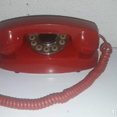 Teléfonos: TELÉFONO RETRO FOUND PARAMOUNT COLLECTION LTDA COLOR ROJO CON TECLAS FUNCIONA CDMP. Lote 149687562