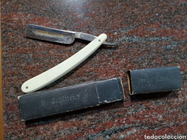 NAVAJA DE AFEITAR SOLINGEN (Antigüedades - Técnicas - Barbería - Navajas Antiguas)