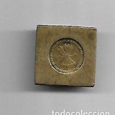 Antigüedades: PESO EN BRONCE SIGLO XIX CONTRASTADO. Lote 149725370