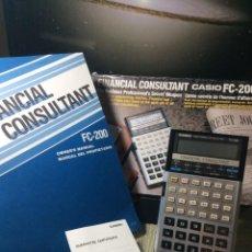 Antigüedades: CALCULADORA CASIO FC 200 ¡¡FINANCIERA!! AÑOS 80 ¡NUEVA! (VER FOTOS). Lote 216615830