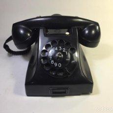 Teléfonos: TELÉFONO ERICSSON RUEN CON PULSADOR Y AUDIFONO PARA PTT ENERO DE 1963-SUECIA - LA OPALINA. Lote 149770941