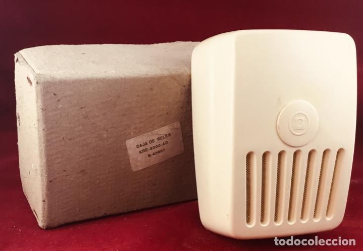 ANTIGUA CAJA DE RELÉS, KRE-8000-AO, DE CITESA, PARA LA CTNE, ACTUAL TELEFÓNICA (Antigüedades - Técnicas - Teléfonos Antiguos)