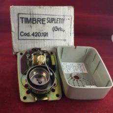 Teléfonos: TIMBRE SUPLETORIO, DE LA CTNE, ACTUAL TELEFÓNICA . Lote 149806034