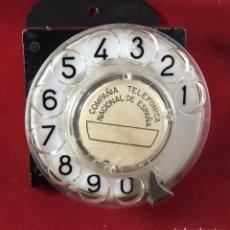 Teléfonos: ANTIGUO, EXCELENTE Y COMPLETO DIAL, PARA MESA O EQUIPO DE PRUEBAS DE LA CTNE, ACTUAL TELEFÓNICA. Lote 149871126
