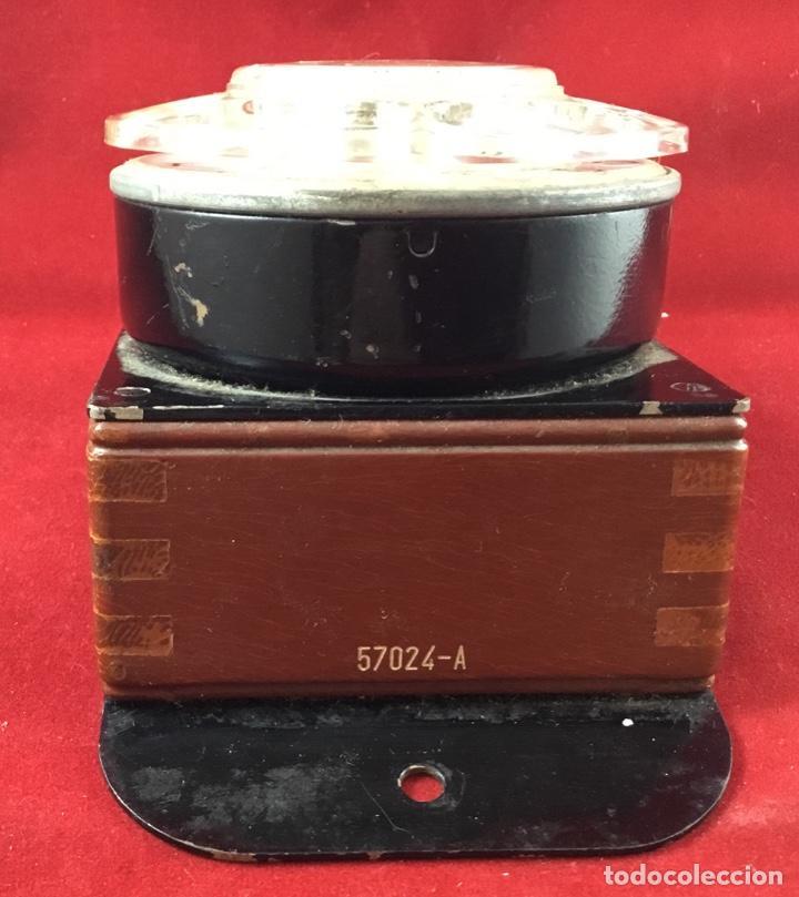 Teléfonos: Antiguo, excelente y completo dial, para mesa o equipo de pruebas de la CTNE, actual Telefónica - Foto 3 - 149871126