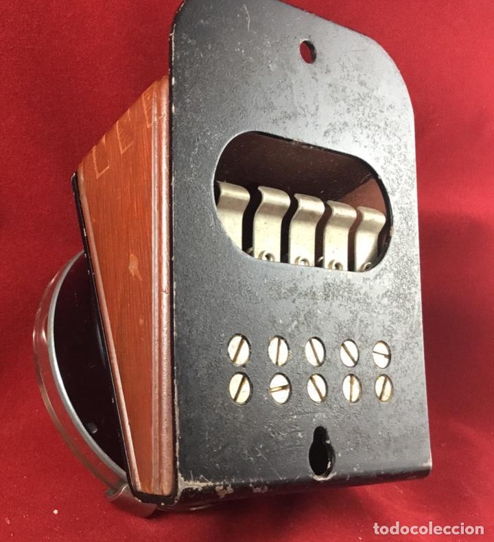 Teléfonos: Antiguo, excelente y completo dial, para mesa o equipo de pruebas de la CTNE, actual Telefónica - Foto 8 - 149871126