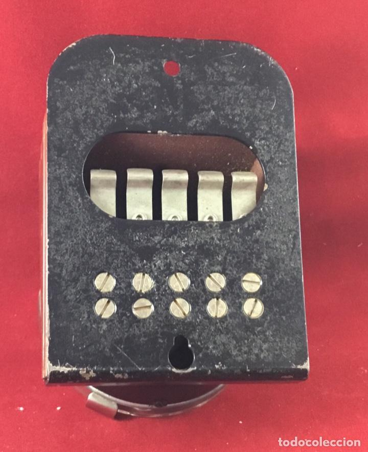 Teléfonos: Antiguo, excelente y completo dial, para mesa o equipo de pruebas de la CTNE, actual Telefónica - Foto 9 - 149871126