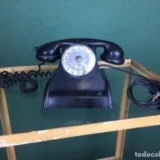 Teléfonos: TELÉFONO FRANCÉS EN BAQUELITA AÑOS 50. Lote 150076602