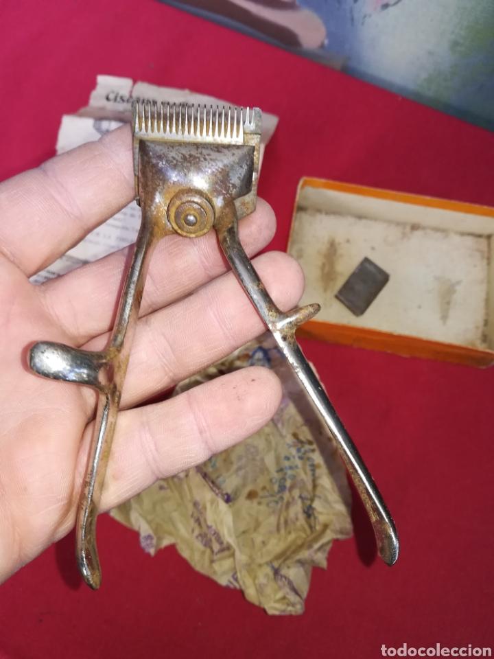Antigüedades: Antigua cortadora de pelo - Foto 2 - 150077965