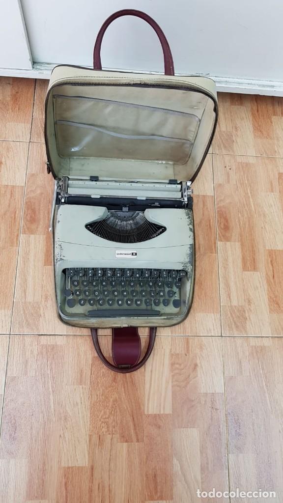 MAQUINA ESCRIBIR UNDERWOOD 18 (Antigüedades - Técnicas - Máquinas de Escribir Antiguas - Underwood)
