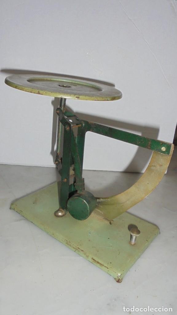 Antigüedades: (M) ANTIGUA BALANZA / BASCULA DE METAL,ALUMINIO PRODUCTION POSSO - 16 CM. DE ALTURA - Foto 3 - 150091622