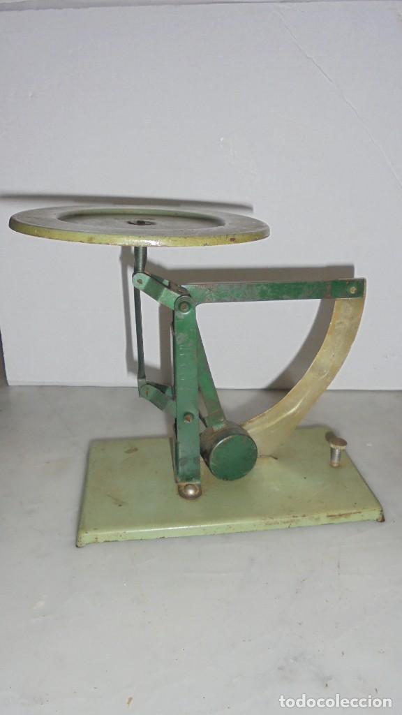 Antigüedades: (M) ANTIGUA BALANZA / BASCULA DE METAL,ALUMINIO PRODUCTION POSSO - 16 CM. DE ALTURA - Foto 4 - 150091622