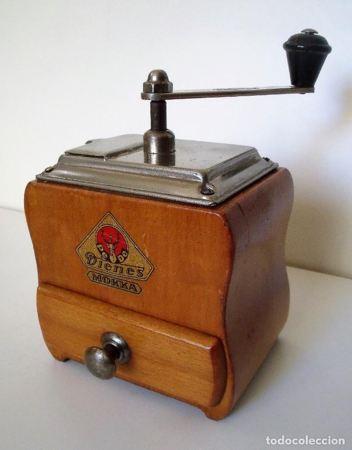 Antigüedades: MOLINILLO DE CAFÉ MARCA DIENES. MODELO 750. ALEMANIA. CA. 1950/1960 - Foto 2 - 150200486