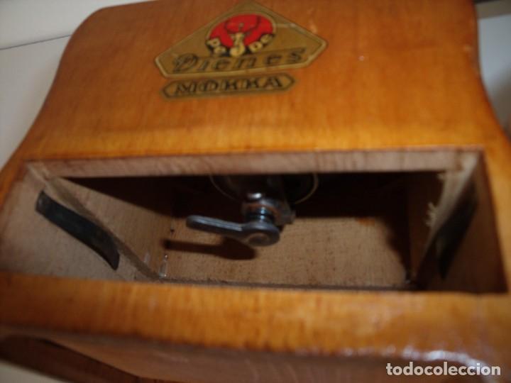 Antigüedades: MOLINILLO DE CAFÉ MARCA DIENES. MODELO 750. ALEMANIA. CA. 1950/1960 - Foto 10 - 150200486