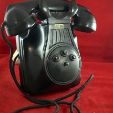 Teléfonos: ANTIGUO TELÉFONO MURAL ESPAÑOL, DE BAQUELITA, CON CUATRO TECLAS, DE STANDARD ELÉCTRICA, PARA LA CTNE. Lote 150205802