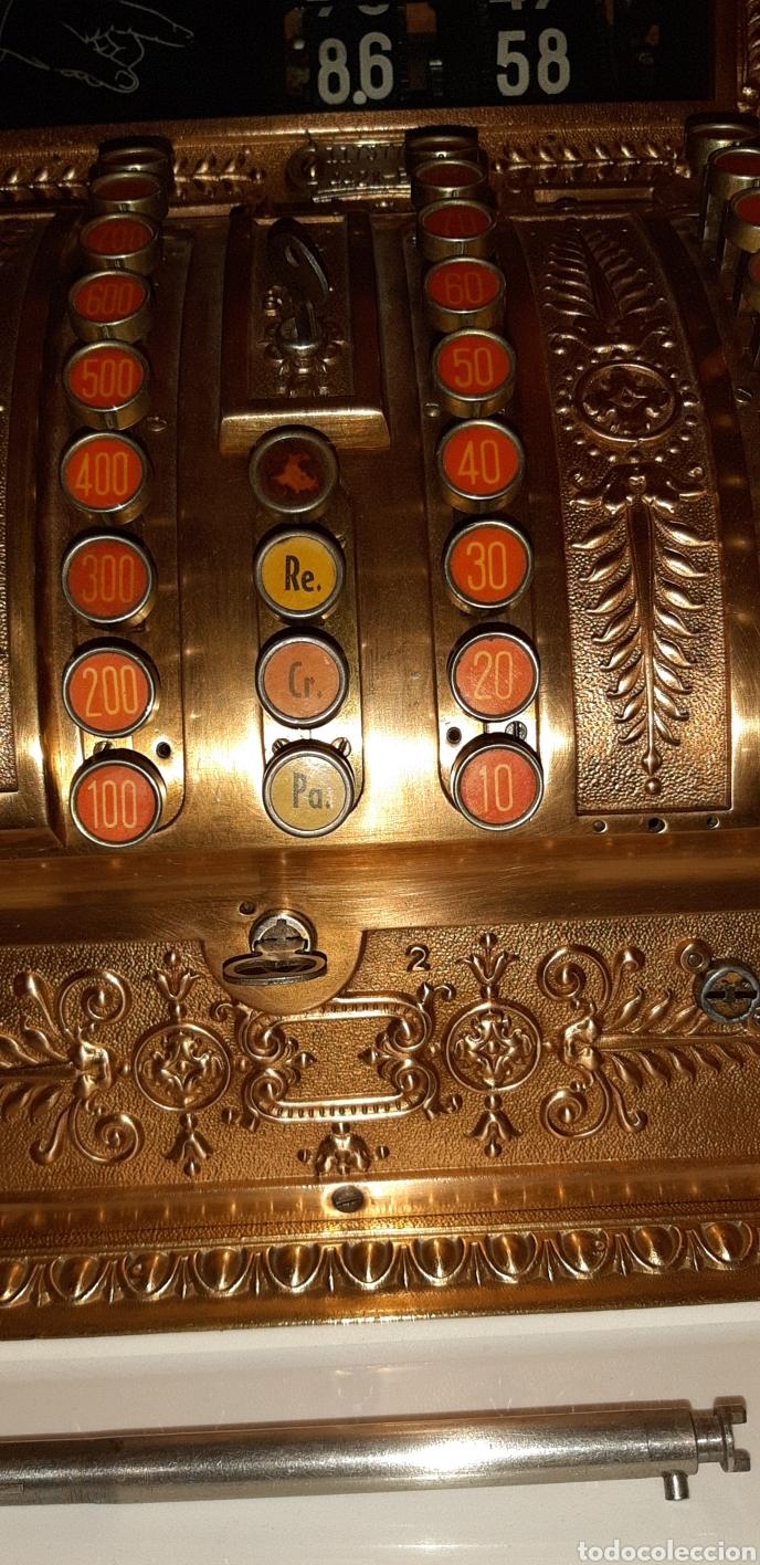 Antigüedades: Máquina registradora National. - Foto 6 - 114323827