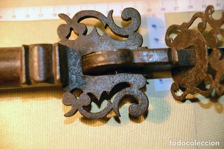 Antigüedades: Gran llamador de forja, Antiguo - Foto 12 - 150312034