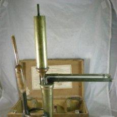 Antigüedades: EBULLOSCOPIO E. MALLIGAND FILS - PARIS - ALCOHOLIMETRO - EBULLOMETRO. Lote 150358934