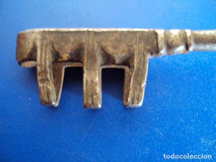 Antigüedades: (ANT-190224)LLAVE DE FORJA - SIGLO XVIII - Foto 3 - 150515246